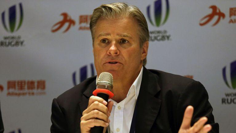 World Rugby chief executive Brett Gosper