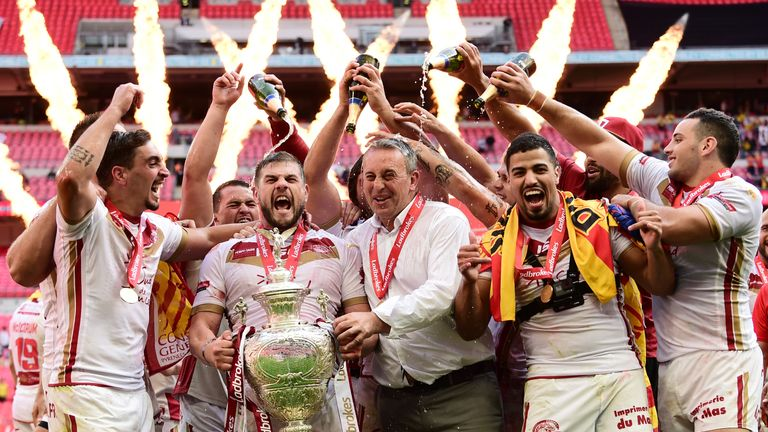 Catalans Dragons may not defend the Challenge Cup over a bond dispute