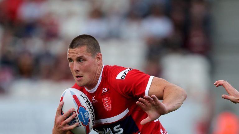 Joel Tomkins joined Hull KR from Wigan in June