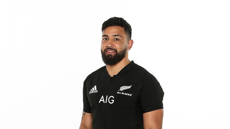 Matt Proctor partners Hurricanes team-mate Ngani Laumape in the All Blacks midfield