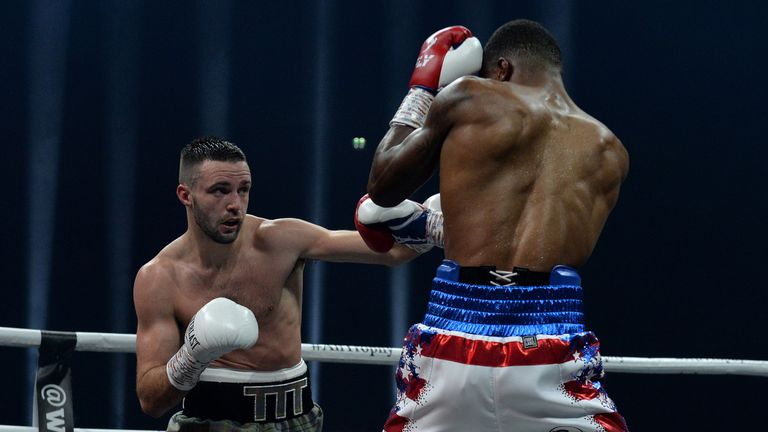 Josh Taylor eases past Ryan Martin with seventh round TKO | Boxing News |