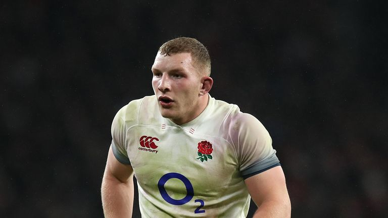 Underhill has not started for England in a year due to concussion and a toe injury