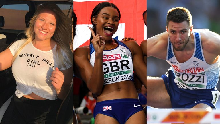 British Athletics is investing in the Sky Scholars in the lead-up to Tokyo
