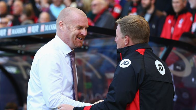 Sean Dyche and Eddie Howe are modern influences on Hughton