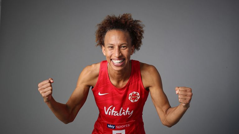 Serena Guthrie captained England in the absence of Ama Agbeze