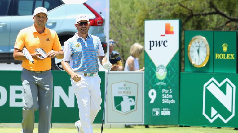 Garcia played alongside Louis Oosthuizen who remains his nearest challenger