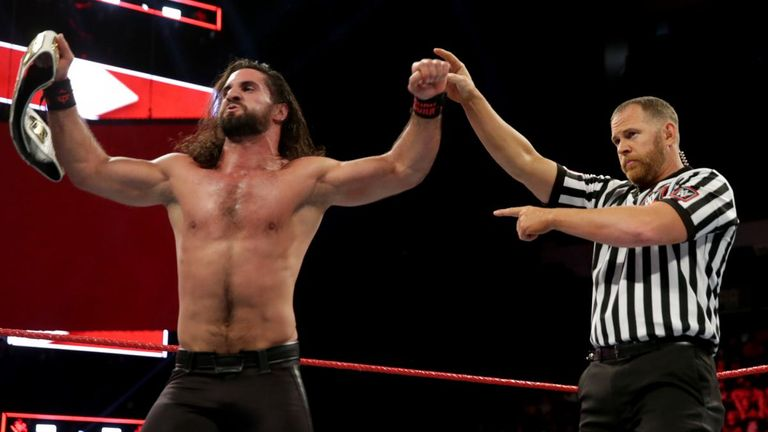 Seth Rollins enjoyed a superb 2018 and was one of the top stars on Raw throughout