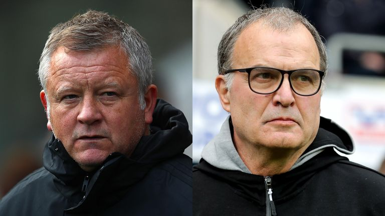 Chris Wilder will go toe-to-toe with Marcelo Bielsa at Bramall Lane on Saturday