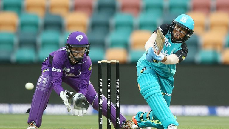 Smriti Mandhana played for Brisbane Heat - one of the sides Rumana Ahmed spent time watching