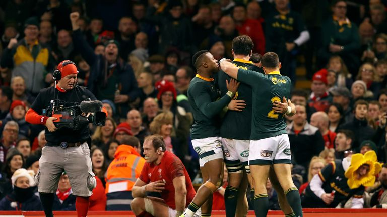 Despite gaining momentum in the Test during the end of the first half and through the second, the Boks were wasteful