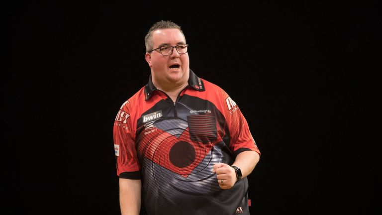Stephen Bunting also enjoyed a welcome return to form
