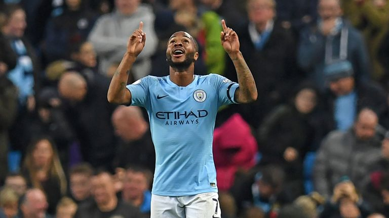 Raheem Sterling has been great for Man City this season, but can he perform against Man Utd?