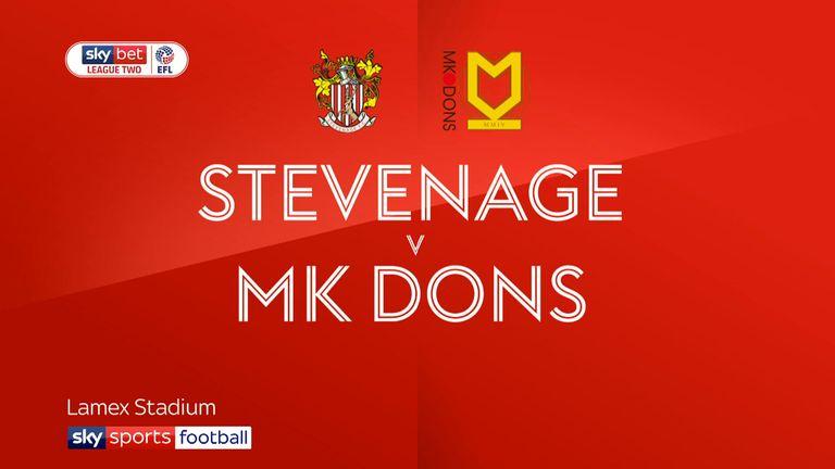 Stevenage vs MK Dons preview