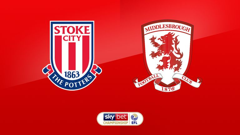 Stoke vs Middlesbrough preview: Championship clash live on Sky Sports Football