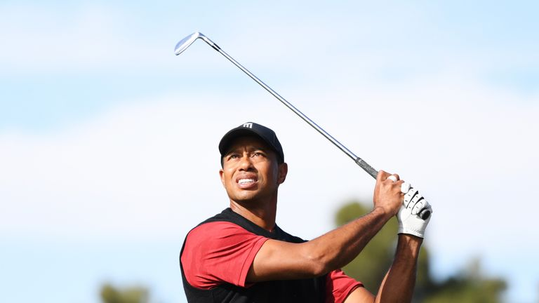 Tiger Woods lost to Phil Mickelson last week in their head to head match for £7m