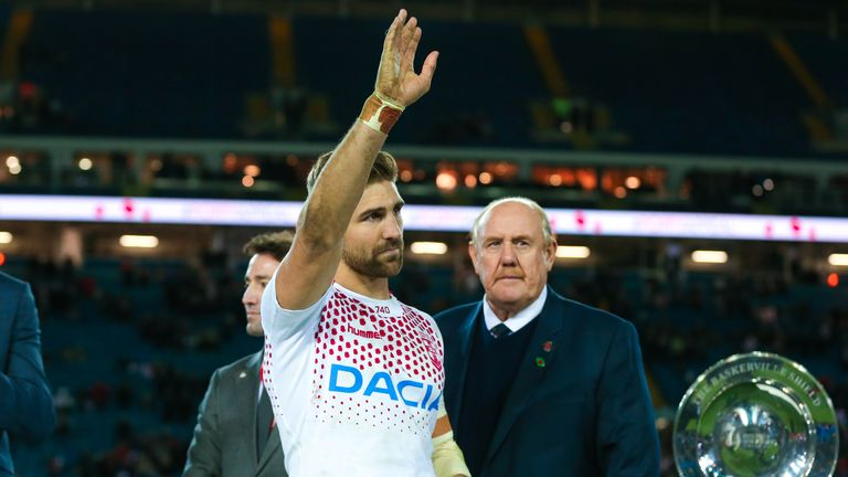 England's Tommy Makinson was crowned player of the series