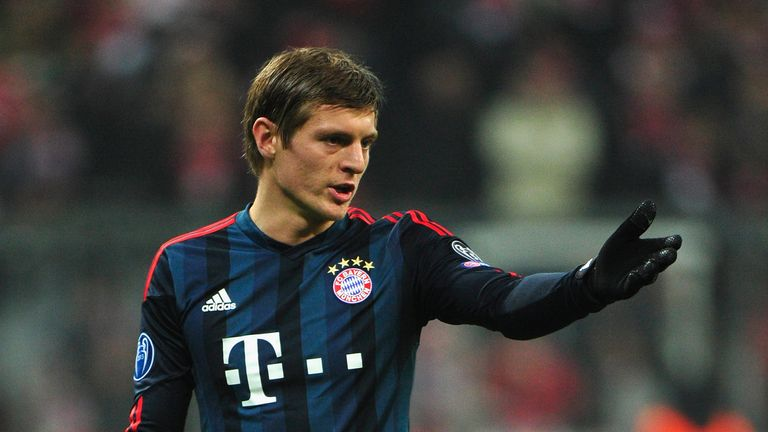 David Moyes tried to sign Toni Kroos from Bayern Munich in 2013
