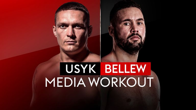 Watch the live stream of their public workout