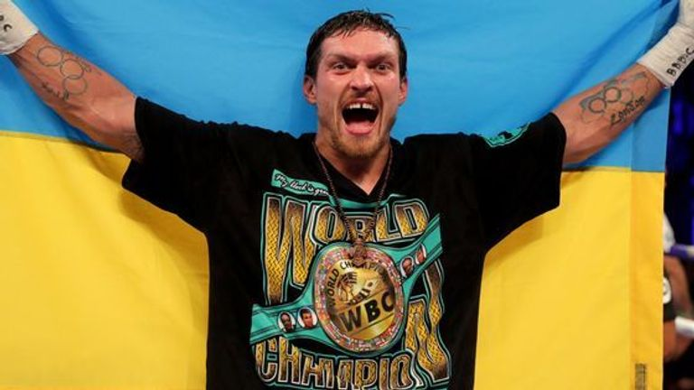 Oleksandr Usyk could be an alternative opponent for Joshua