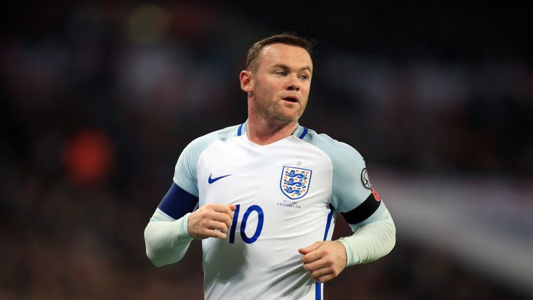 Wayne Rooney will return for a one-off farewell appearance for England against the USA on Thursday
