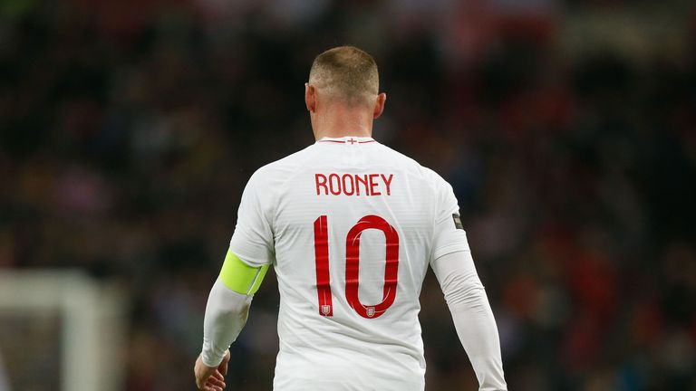 Wayne Rooney won his 120th and final England cap against USA