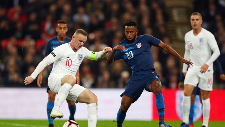 Rooney 'showed moments of pure quality', said Jamie Redknapp