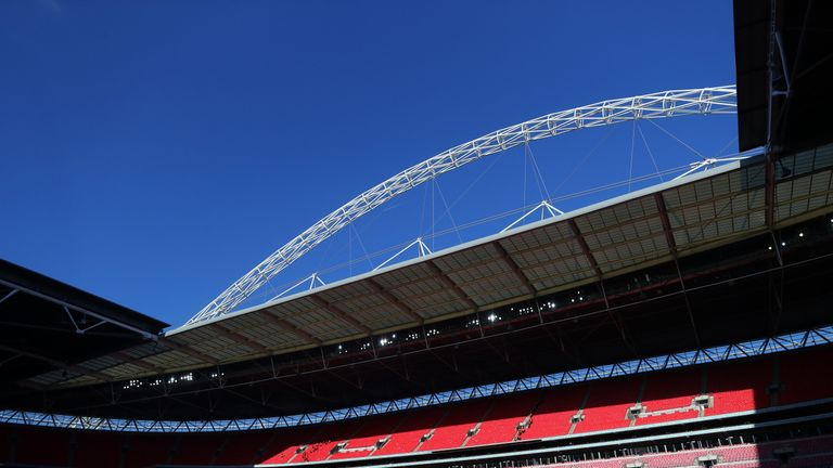 Wembley Stadium is said to be in the running to host the 2021 final along with Old Trafford