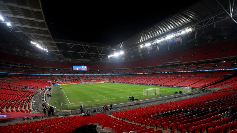 Wembley Stadium would be the likely World Cup final venue if a joint UK and Ireland bid were accepted