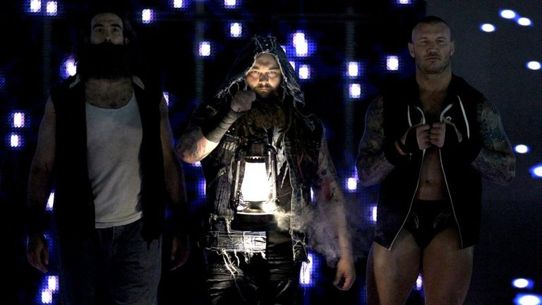 Harper arrived in WWE as part of the Wyatt Family faction