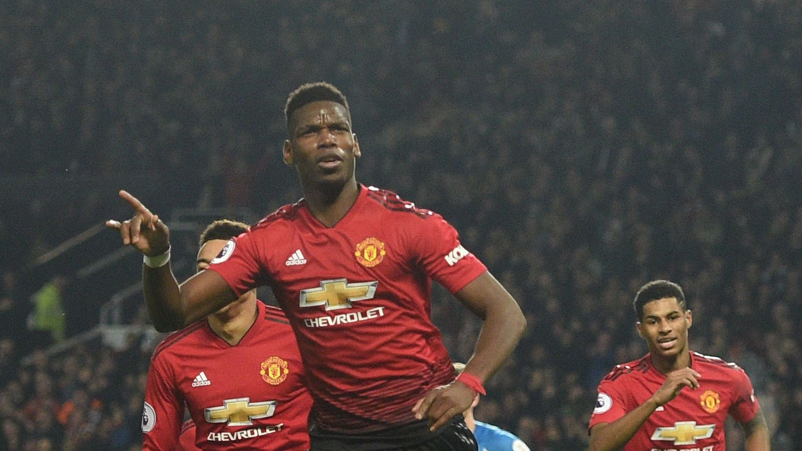 Man Utd 3 - 1 Huddsf'ld - Match Report & Highlights