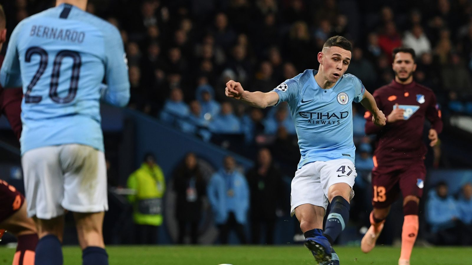 """Pep Guardiola hails """"incredible"""" Phil Foden and feels he"""