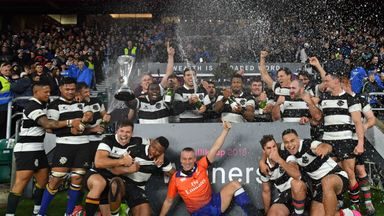 The Barbarians earned a memorable victory over Argentina at Twickenham after a last-gasp Elton Jantjies drop goal