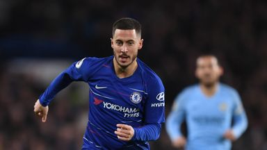 Eden Hazard has previously said he is 'torn' between extending his Chelsea contract and pursuing a move to Real Madrid