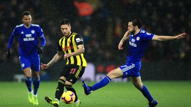 fifa live scores -                               Cardiff vs Watford in PL date change