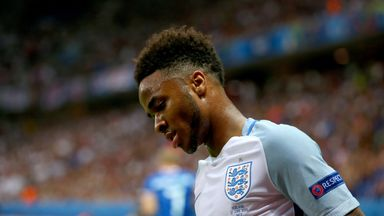 Gary Neville revealed on Monday Night Football that Raheem Sterling confided in him during Euro 2016