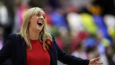 Tracey Neville will be aiming to lead England to World Cup glory next year