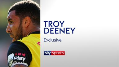 fifa live scores -                               Deeney: I'm not just about goals
