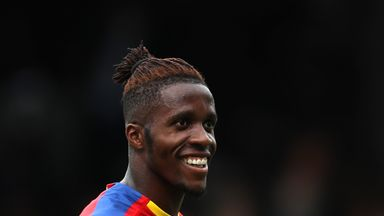 Sky sources understand Wilfried Zaha is a key target for Borussia Dortmund this summer