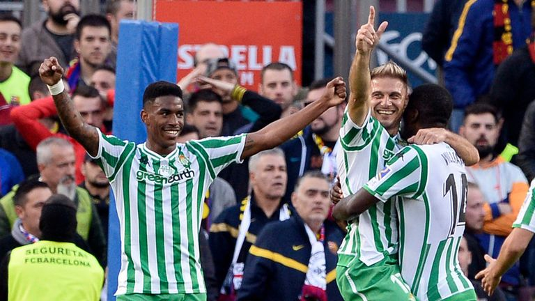 Junior Firpo has been a breakout star of this Liga season