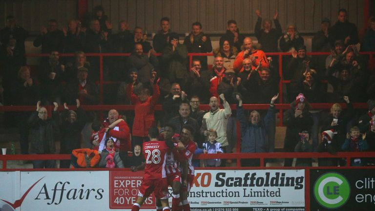 Accrington's home ground is a world away from the Stadium of Light