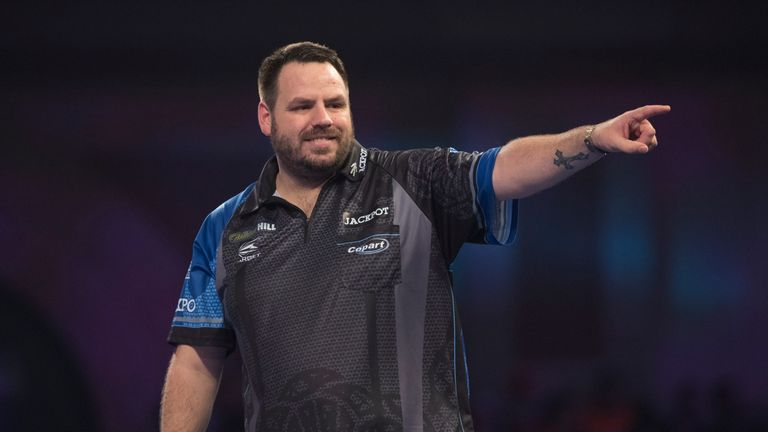 Durrant takes on two-time world champion Adrian Lewis on his World Matchplay debut