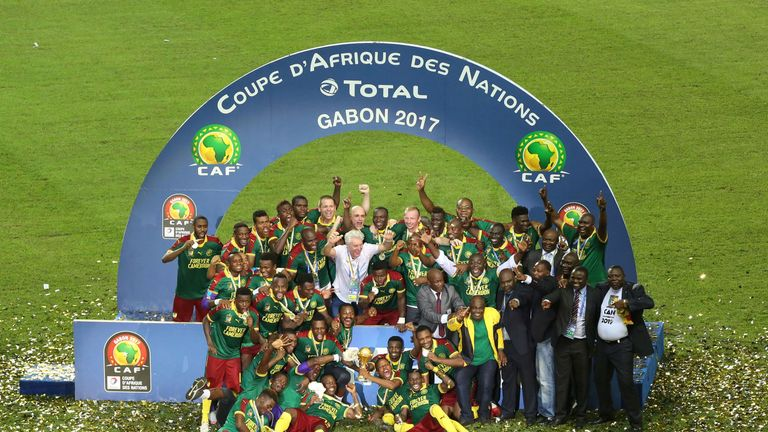 Cameroon beat Egypt in the final to win the 2017 African Cup of Nations