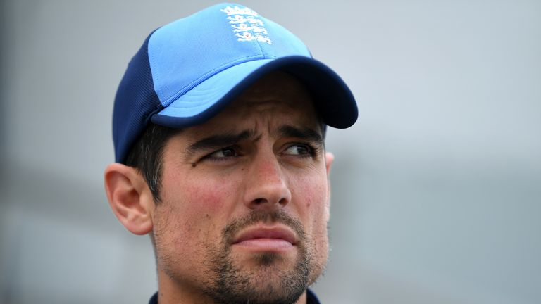 Alastair Cook said he became the Test player he could be