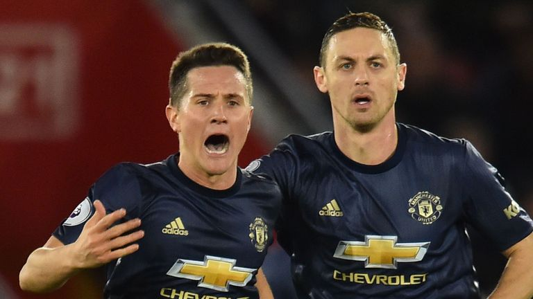 Ander Herrera and Nemanja Matic are also in line for returns against Arsenal