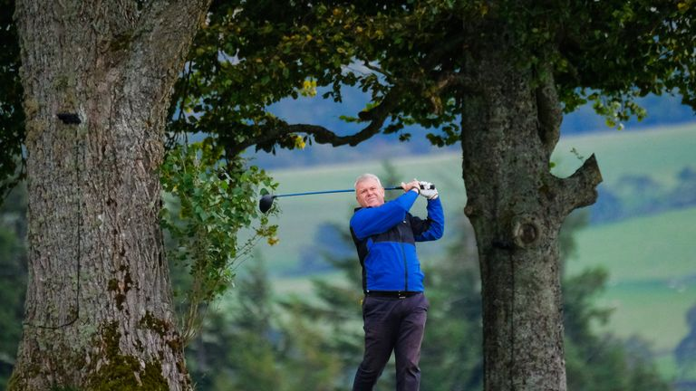 Andrew McKinlay unveiled the new app at the Scottish Golf conference