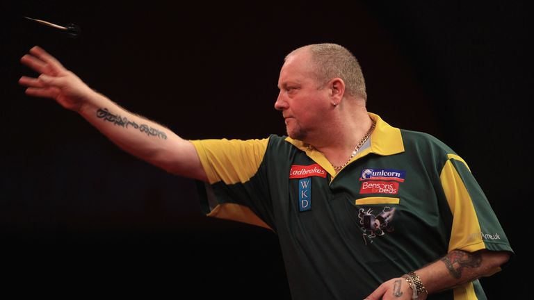 Andy 'The Hammer' Hamilton was ruthless in his run to the final in 2012