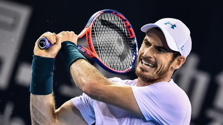 Andy Murray is set to return to action in Brisbane, which starts on New Year's Eve