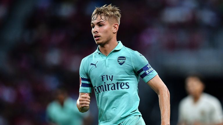 Smith Rowe shone during Arsenal's pre-season tour