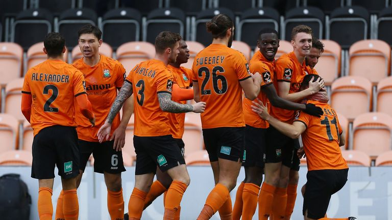 Barnet booked their place in the FA Cup Third Round with a win over Stockport