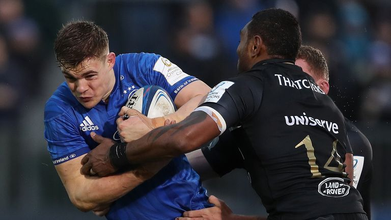 Leinster were far from their best, but had enough to get over the line